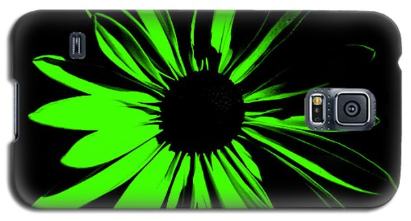 Galaxy S5 Case featuring the digital art Flower 12 by Maggy Marsh