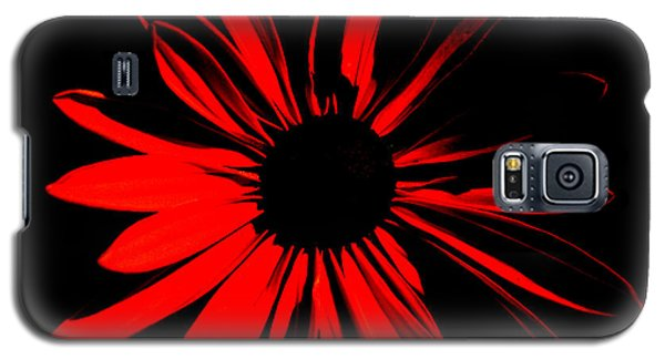 Galaxy S5 Case featuring the digital art Flower 2 by Maggy Marsh
