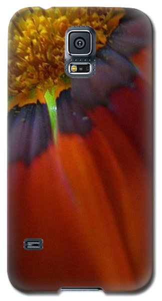 Galaxy S5 Case featuring the photograph Flower by Andy Prendy
