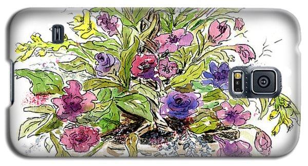 Flower Basket I Galaxy S5 Case