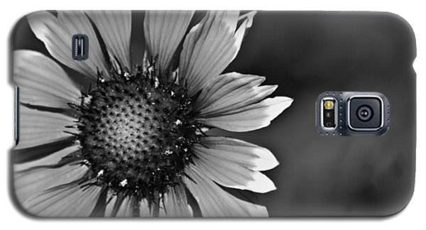 Flower Black And White #1 Galaxy S5 Case