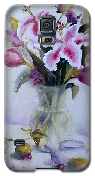 Flower Bouquet With Teapot And Fruit Galaxy S5 Case