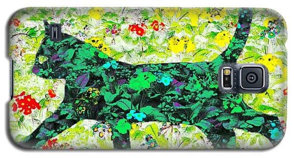 Flower Cat Galaxy S5 Case