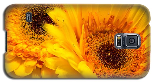 Flower Eyes Galaxy S5 Case