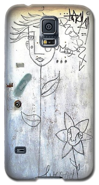 Flower Faces Galaxy S5 Case by Ethna Gillespie