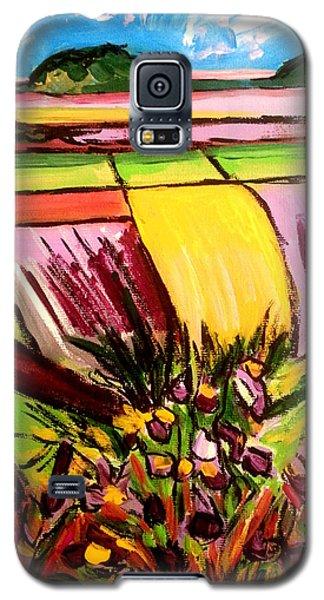Flower Fields Galaxy S5 Case