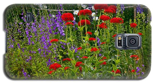 Flower Garden Galaxy S5 Case by Johanna Bruwer