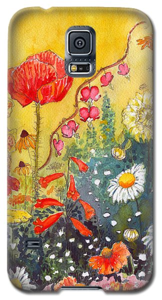 Flower Garden Galaxy S5 Case