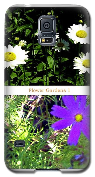 Flower Gardens A Galaxy S5 Case