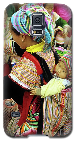 Flower Hmong Baby 03 Galaxy S5 Case