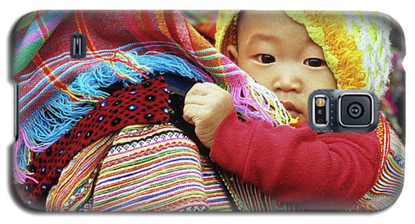 Flower Hmong Baby 04 Galaxy S5 Case
