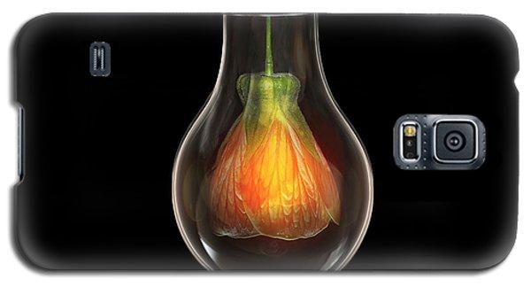 Flower In Bulb Galaxy S5 Case