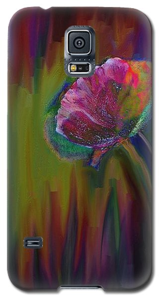 Flower In Flames Galaxy S5 Case