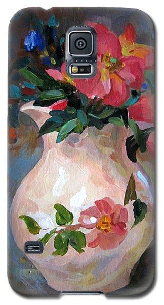 Flower In Vase Galaxy S5 Case by Jieming Wang