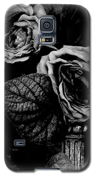 Galaxy S5 Case featuring the photograph Flower Is Woman by Steven Macanka