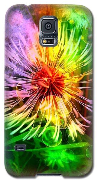 Flower Light Galaxy S5 Case
