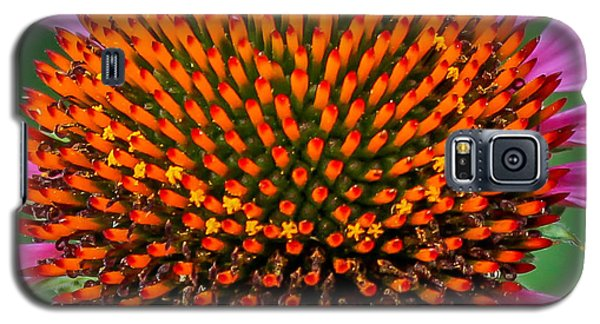 Galaxy S5 Case featuring the photograph Flower Macro  by Trace Kittrell