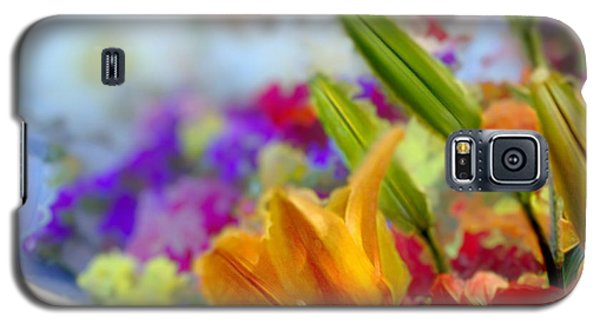 Flower Market 1 Galaxy S5 Case