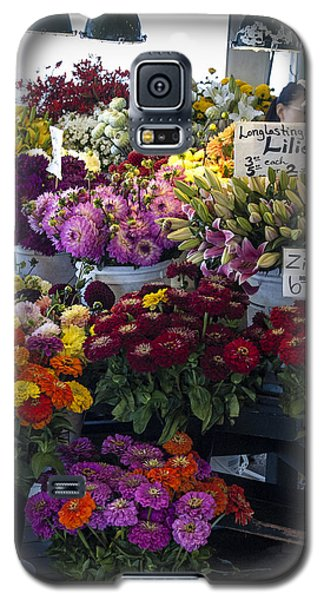 Flower Market Galaxy S5 Case