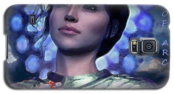 Joan Of Arc Flower Of France Galaxy S5 Case