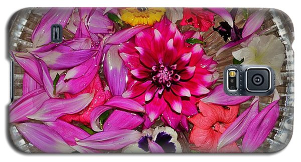Flower Offerings - Jabalpur India Galaxy S5 Case