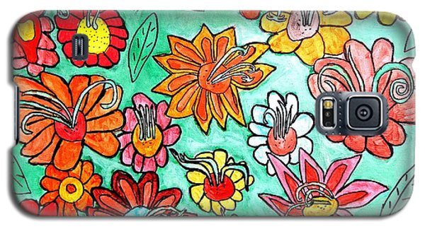 Flower Power Galaxy S5 Case by Artists With Autism Inc