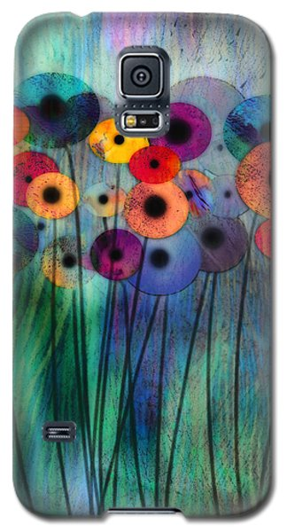 Flower Power Three Galaxy S5 Case by Ann Powell