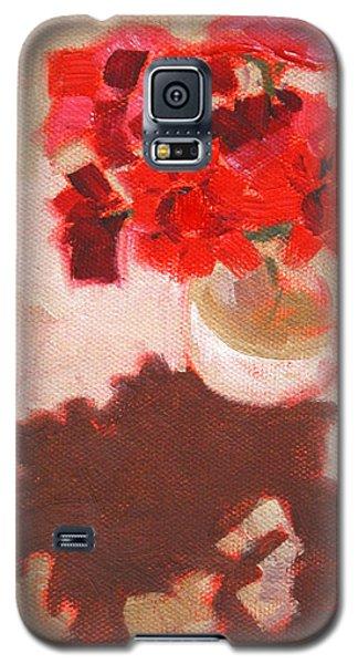 Flower Shadows Still Life Galaxy S5 Case