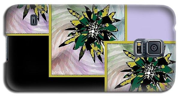 Flower Time Galaxy S5 Case by Ann Calvo