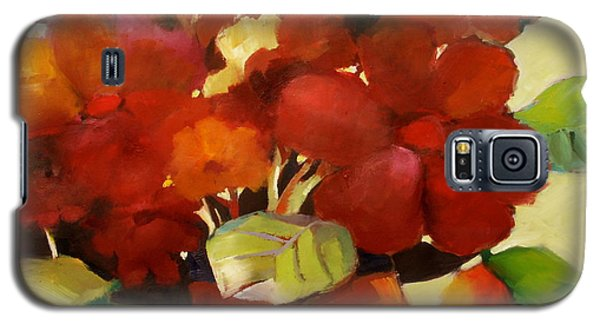 Galaxy S5 Case featuring the painting Flower Vase No. 3 by Michelle Abrams