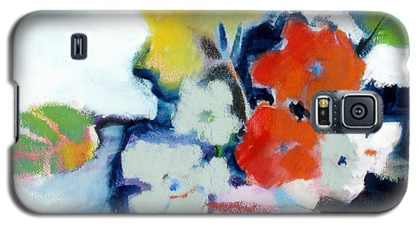 Galaxy S5 Case featuring the painting Flower Vase No.1 by Michelle Abrams
