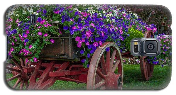 Flower Wagon Galaxy S5 Case