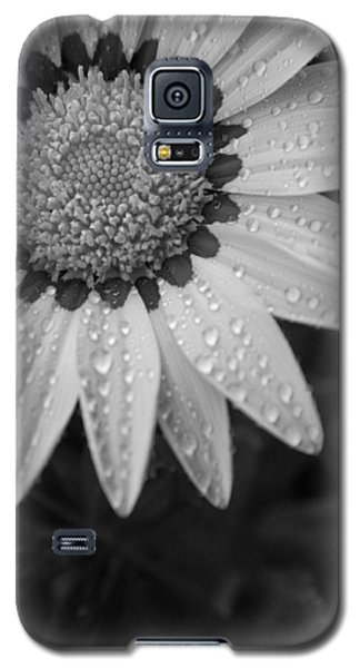 Flower Water Droplets Galaxy S5 Case