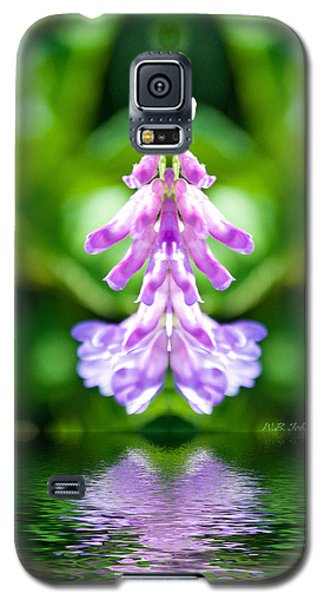 Galaxy S5 Case featuring the photograph Flowerdance by WB Johnston