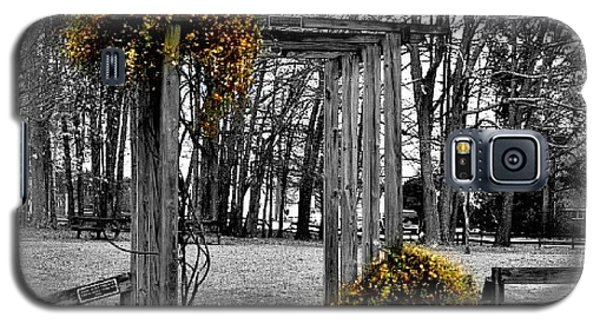 Galaxy S5 Case featuring the photograph Flowering Archway by Tara Potts