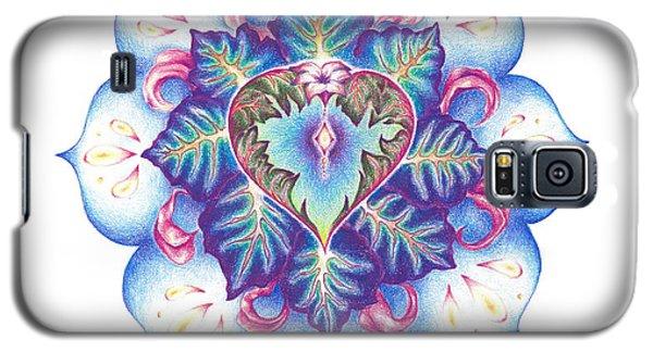 Flowering Of The Heart   Oneness Art Galaxy S5 Case