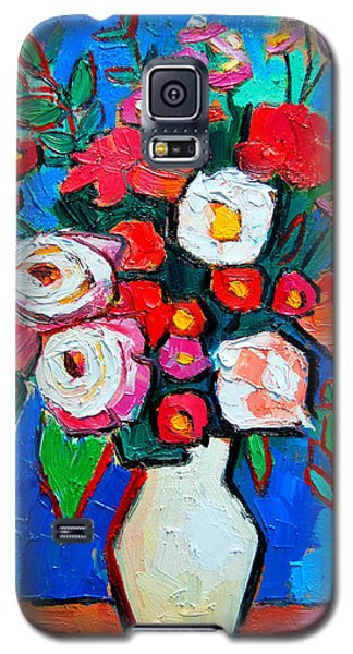 Flowers And Colors Galaxy S5 Case by Ana Maria Edulescu