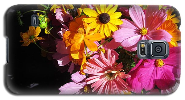 Flowers And Shadow Galaxy S5 Case by Tina M Wenger