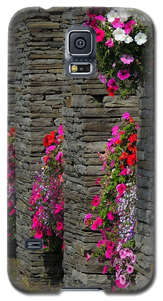 Flowers At Liscannor Rock Shop Galaxy S5 Case