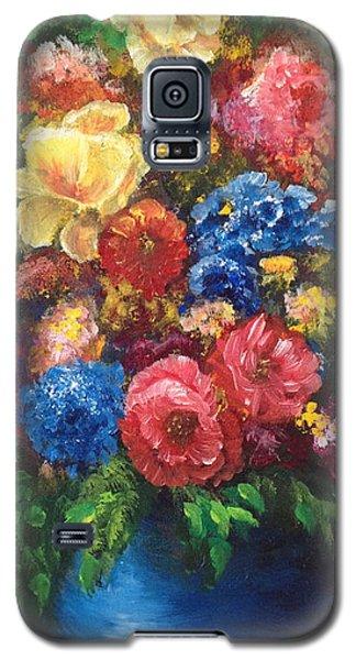 Flowers Galaxy S5 Case by Bozena Zajaczkowska