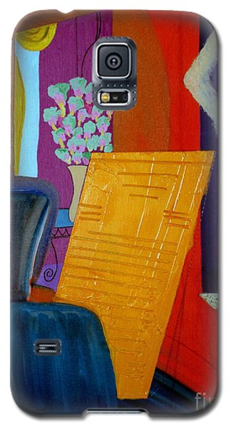 Galaxy S5 Case featuring the painting Flowers For Matisse by Bill OConnor