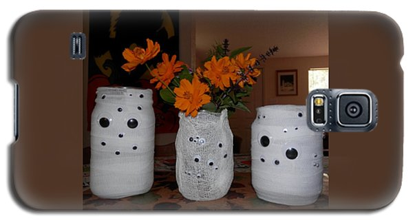Halloween Flowers For Mummy Galaxy S5 Case by Belinda Lee
