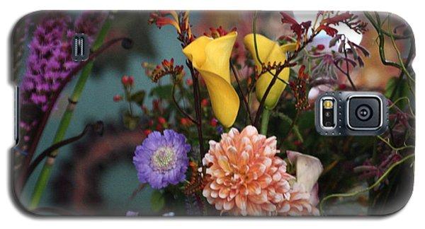 Flowers From My Window Galaxy S5 Case