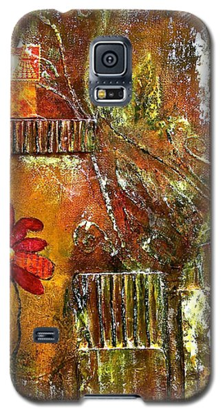 Flowers Grow Anywhere Galaxy S5 Case by Bellesouth Studio