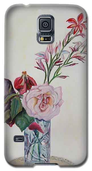 Flowers In A Crystal Vase Galaxy S5 Case