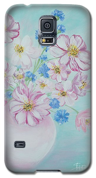 Flowers In A Vase. Inspirations Collection Galaxy S5 Case