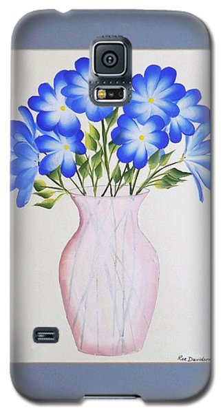 Flowers In A Vase Galaxy S5 Case by Ron Davidson