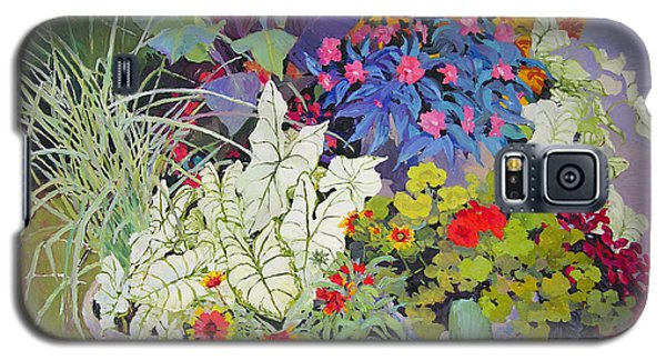 Flowers In The Courtyard Galaxy S5 Case