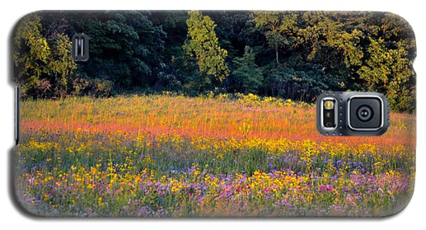 Flowers In The Meadow Galaxy S5 Case by Deb Halloran