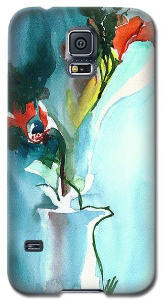 Flowers In Vase Galaxy S5 Case
